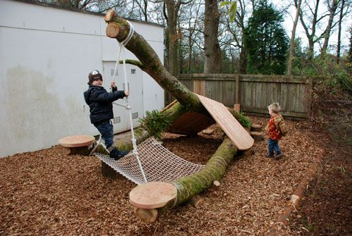 Playground Build & Design | Natural Child Play | Earth Wrights Ltd