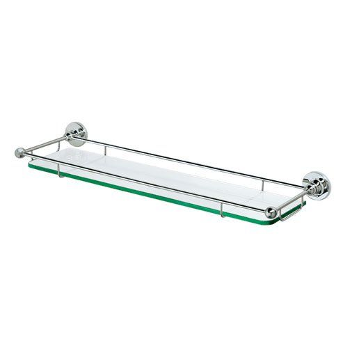 Gatco 1465 Premier Tempered Glass Shelf Chrome