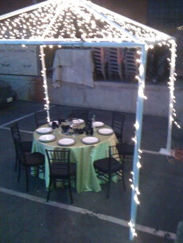 Wedding, Lights, Twinkle - Photo by Vinis Party Rentals