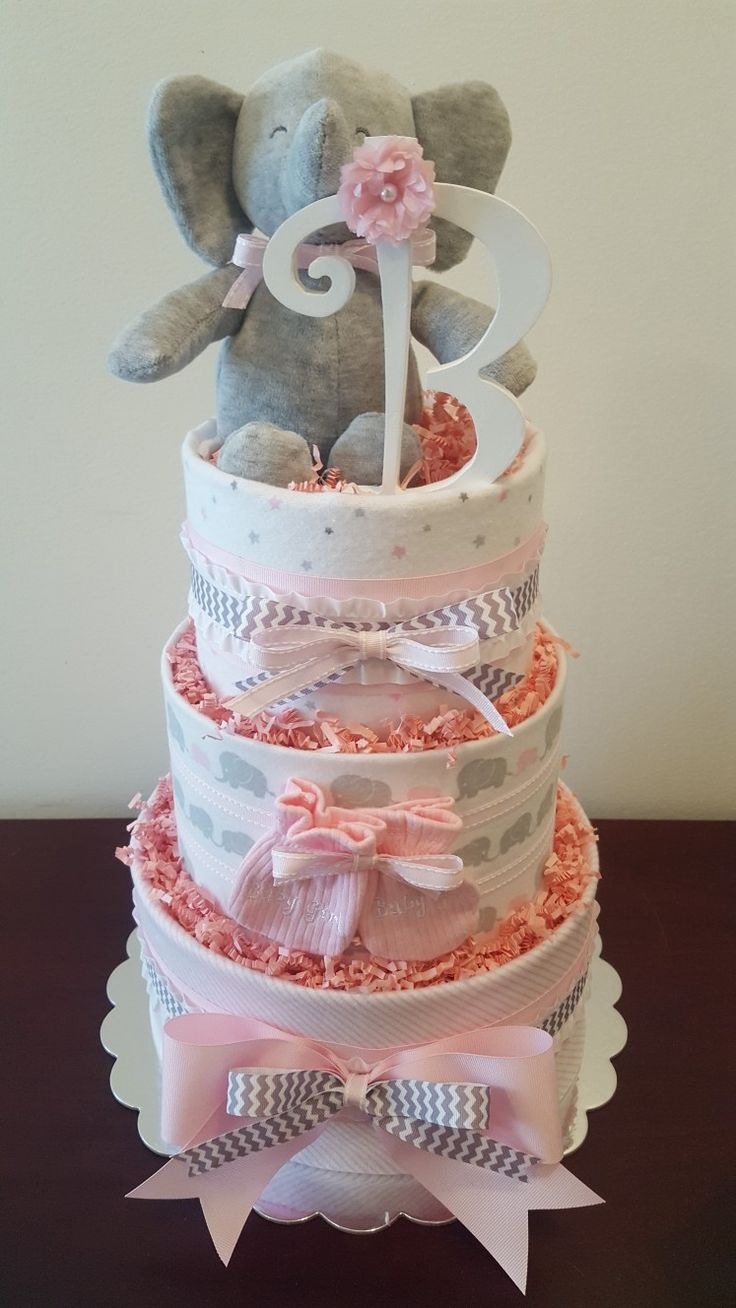 Best 25 Elephant Diaper Cakes Ideas That You Will Like On