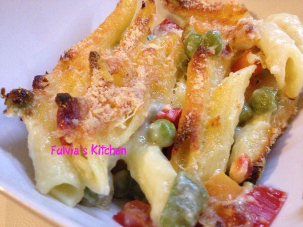 Ricetta Penne gratinate al ragù di verdure da Fulvia_z2013 - Petitchef