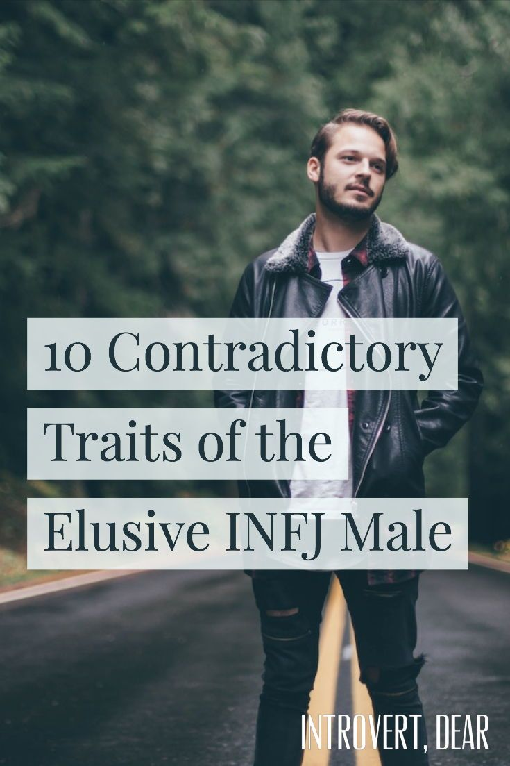 10 Contradictory Traits of the Elusive INFJ Male | INFJ