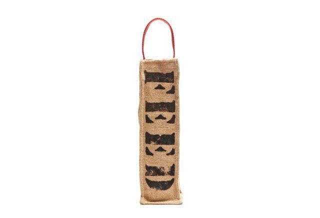 FEED Wine Bag w/ Red Straps