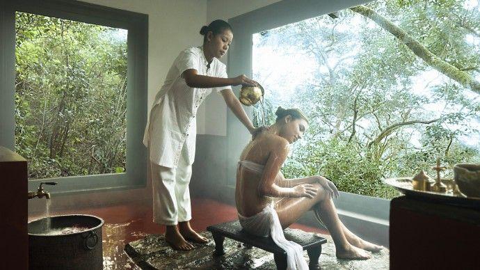 Vivanta by Taj - Madikeri. Resort di lusso nella foresta pluviale sub-tropicale a sud dell'India, ad un'altitudine di 900 m con l'ayurveda tradizionale. #ayurveda #resort #5stelle #lusso #india #benessere #panchakarma