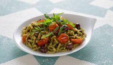Passatelli asciutti al formaggio di fossa con pomodorini e olive - Tutte le ricette dalla A alla Z - Cucina Naturale - Ricette, Menu, Diete