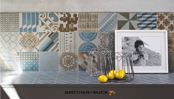 Mutina Azulej kombinace dlaždic, šedá, 20x20, 27ks, 1.08m2 - Brother & Duck e-shop