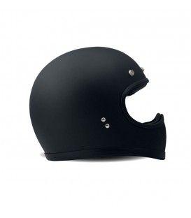 Racer Black DMD, helmet, cafe racer, bobber, casque vintage, chopper, brat style. www.gentlemens-factory.com clothes for bikers and customization