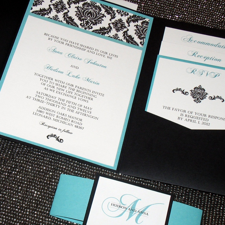 marriage invitation card in hindi language%0A Black and White Damask Wedding Invitation by ThePerfectGiftShop
