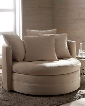 """""""Griffith"""" Cuddle Chair at Horchow. want this for my bedroom"""