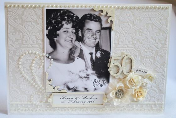 Mum and dad celebrate 50 years of Marriage