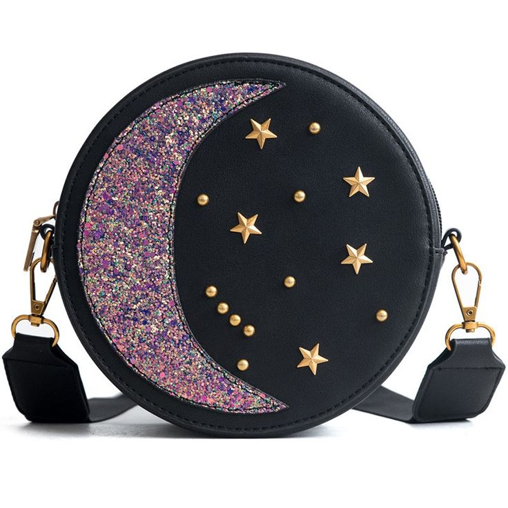 Constellation Cross Round Bag