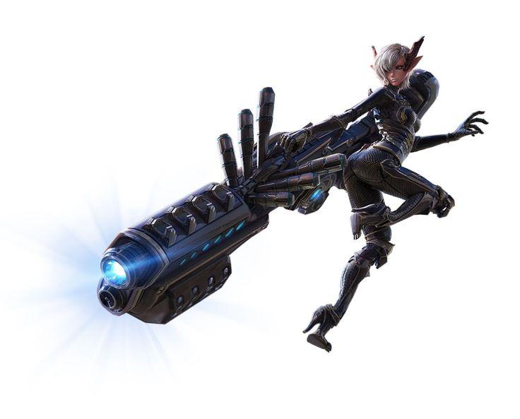 キャスタニックの「Heavy Gunner」キービジュアル