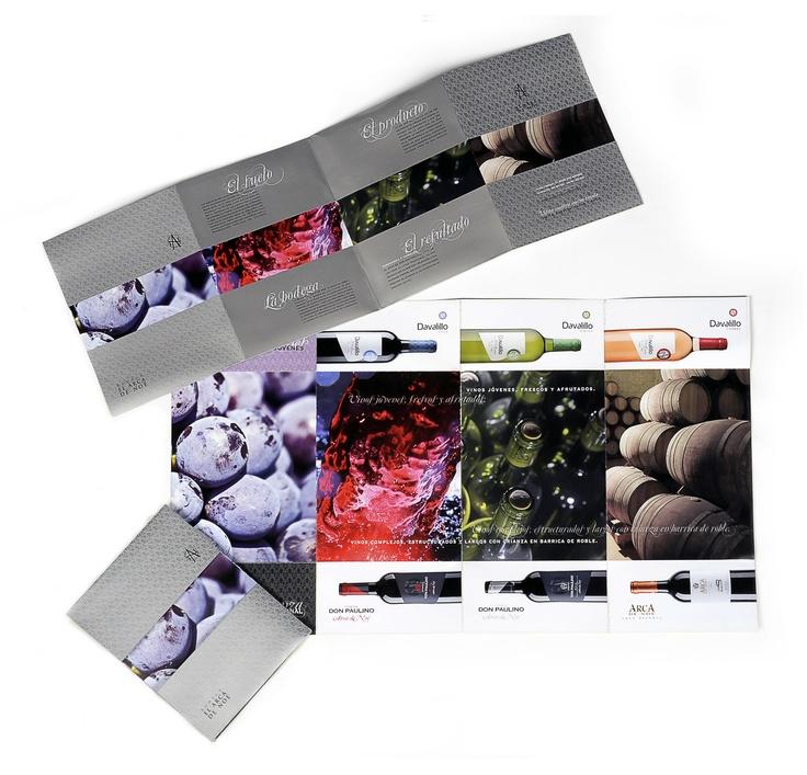 Catalogo de Producto para la bodega Arca de Noe coincidiendo con la presenatción de sus nuevos packaging.