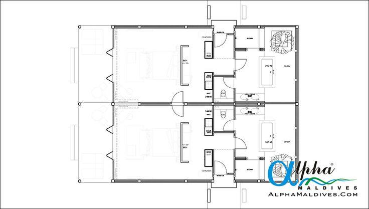 Sunset Family Villa - Floor Plan