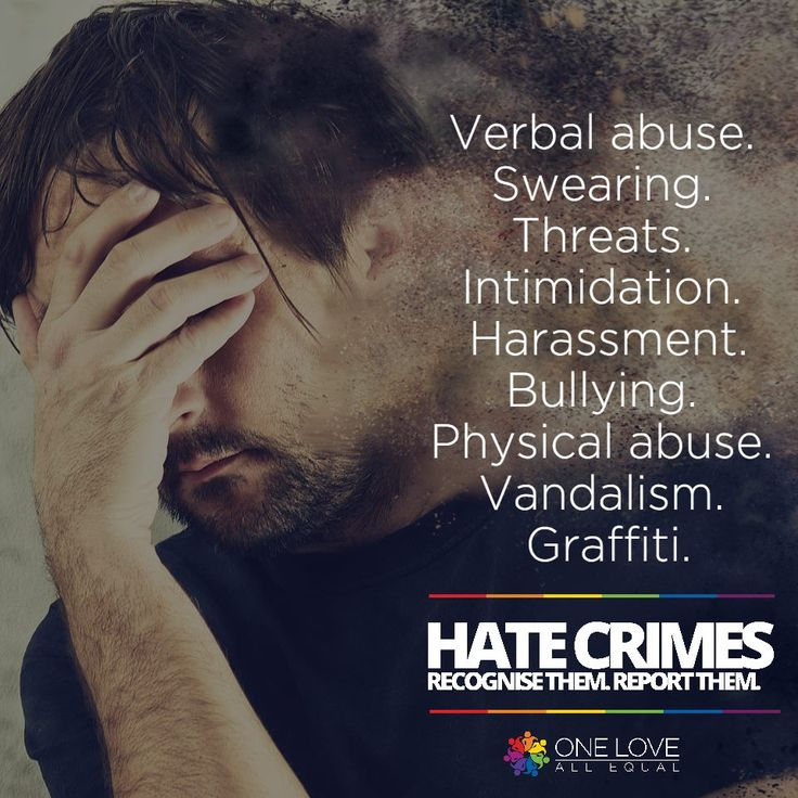 Hate Crimes! Recognize them. Report them. Courtesy: Bow Tie Kreative