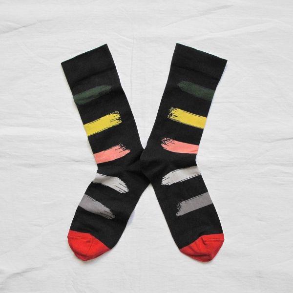 Bonne Maison socks made in France Red House