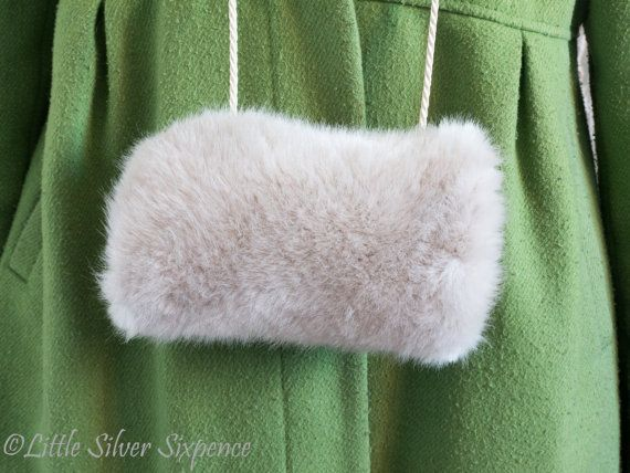 Girls Hand Muff SVMF102 by LittleSilverSixpence on Etsy