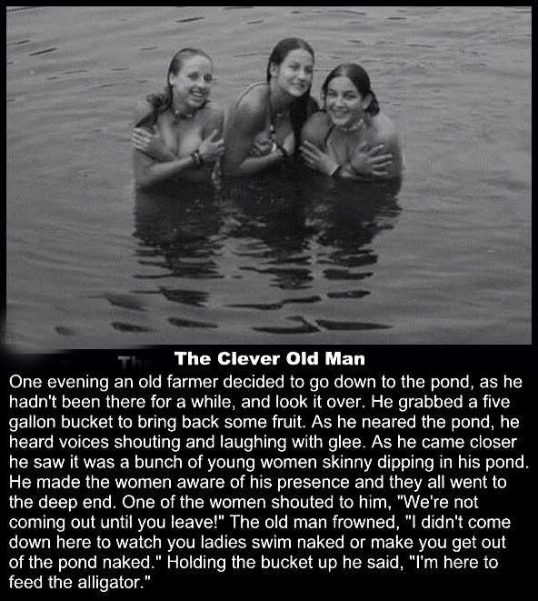 A Funny Story of A Clever Old Man