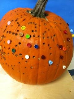 hammer and golf tees - Jen's OT for Kids: Pumpkin Pounding
