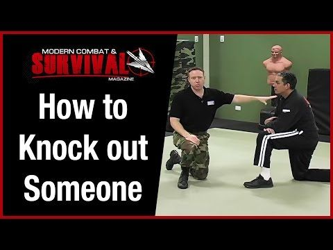 How To Knock Someone Out With One Punch To The Head - YouTube