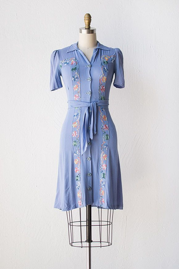 vintage 1940s dress | 40s dress | For Your Delight Dress #vintage #1940sdress