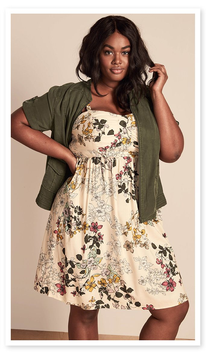 Unsure how I would look. definitely requires something light for shoulders/arms  2017 Spring / Style Inspo | Catalog | CLOTHING | Torrid