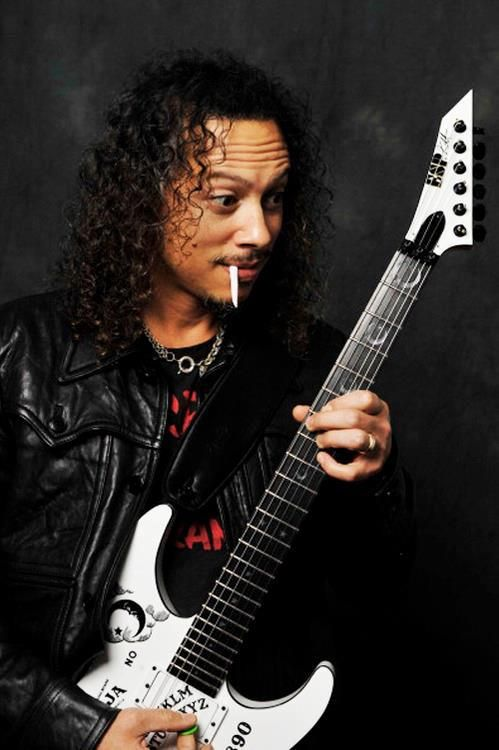 Kirk Hammett one of my all time favorites!!