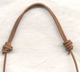 Sliding knot tutorial.  Also, Half-Hitch, Lark's Head, Square and Surgeon's Knot.