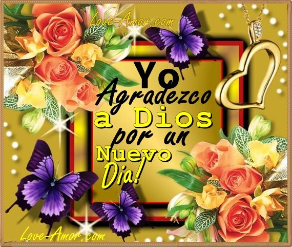 Amor Mio •ღೋεїз: Gracias a Dios
