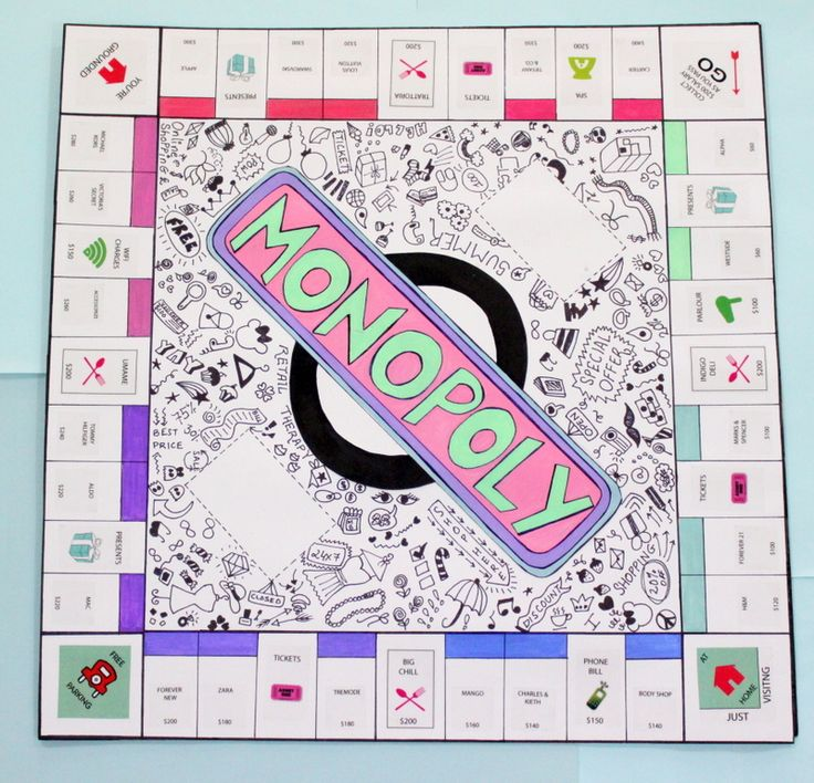 Best 25 homemade board games ideas on pinterest diy games good diy personalised monopoly board game solutioingenieria Image collections