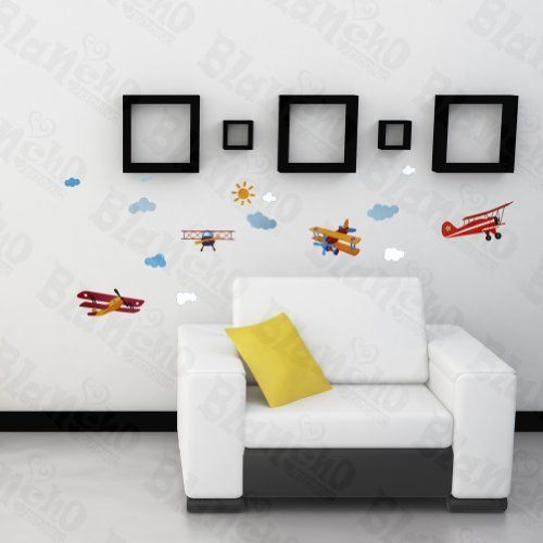 Flying High - Hemu Wall Decals Stickers Appliques Home Decor 12.6 BY 23.6 Inches by Hemu Wall Sticker. $6.49. Simply apply this decal to your wall to bring in a brand new atmosphere and good mood.. Size: (W)12.6 inch x (H)23.6 inch; Colors: Mixed (as shown in the image). Show your creativity by turning your wall into a beautiful work of art with wall art decals.. With little cost or effort you can decorate your home easyly.. This decal would be perfect for almost any...