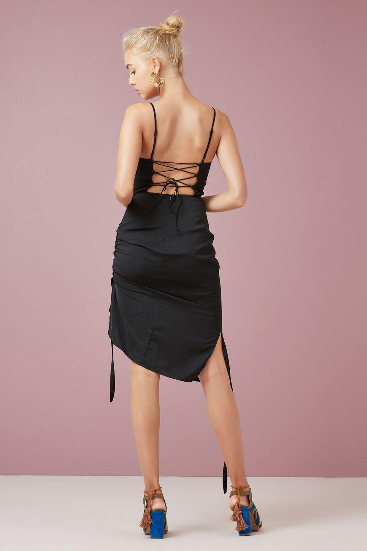 DIRECTION DRESS black | FINDERS KEEPERS | BNKR
