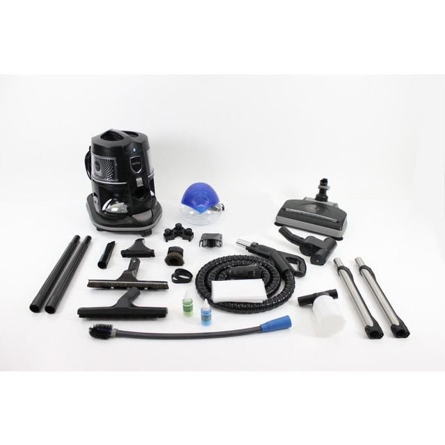 Refurbished Rainbow E2 2-speed Canister Pet Vacuum Cleaner with Rainmate Extras