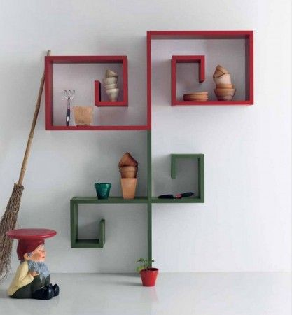 Cheap Shelving Units ~ http://modtopiastudio.com/unusual-shelving-