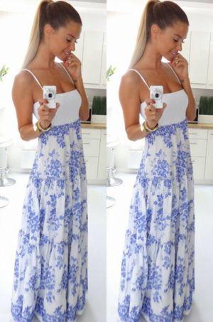 Krásne letné šaty, v ktorých budete neprehliadnuteľná.80% bavlna, 20% polyestér