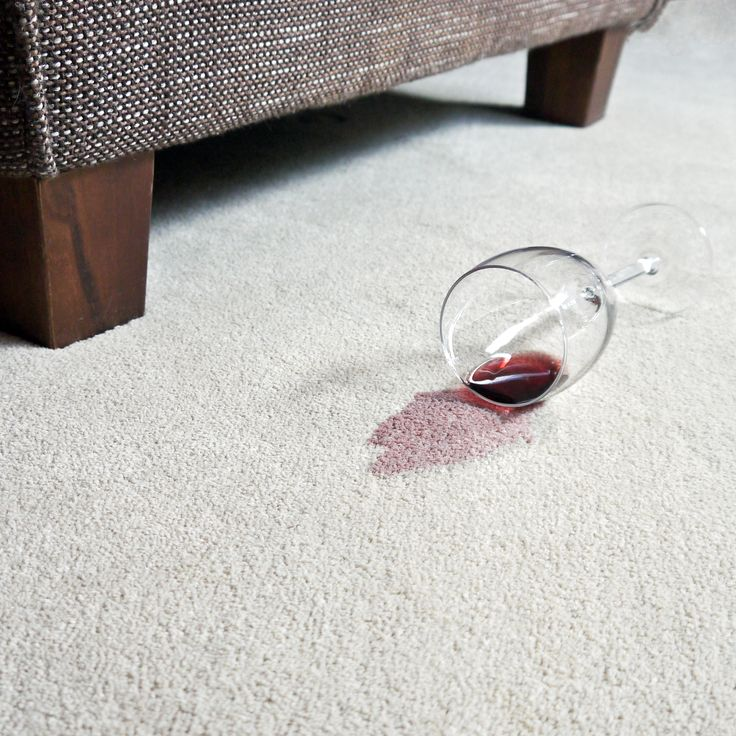 How to Remove Red-Wine Stains From Carpet