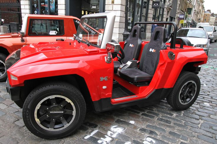 Gumball Rally London, electric mini hummer www.myelectricvehicle.org