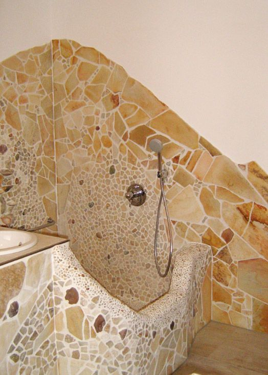 bad mit mosaik - Google-Suche | Badezimmer | Pinterest | Mosaik ...