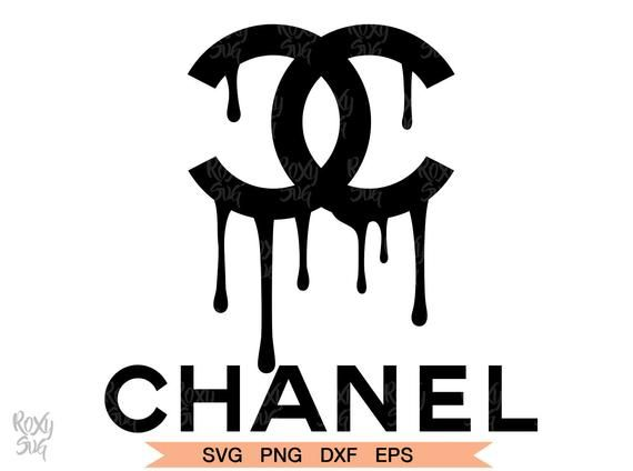 Chanel Drip Logo Chanel Dripping Logo Chanel Dripping Clipart