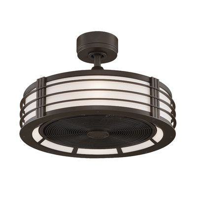"""Found it at Wayfair - 23"""" Beckwith 5 Blade Ceiling Fan with Remote"""