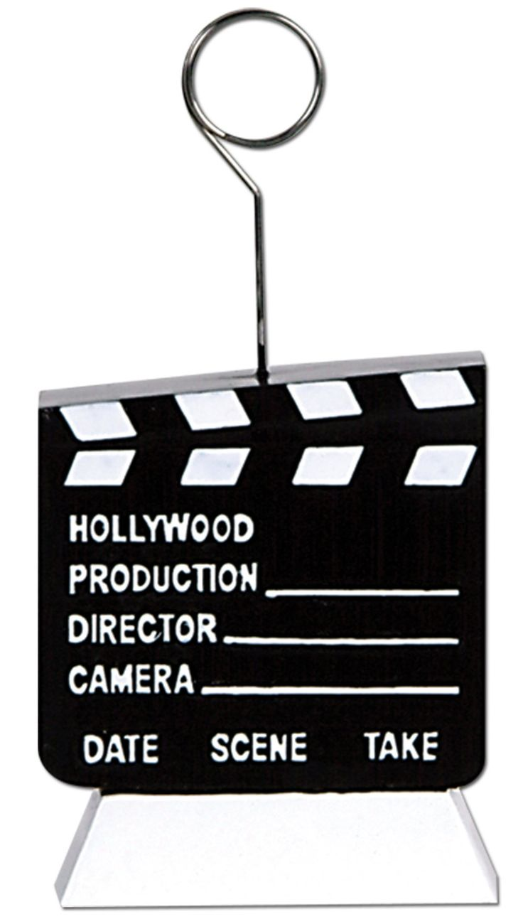 Awards Night Clapboard Photo/Balloon Holder Picture Frame