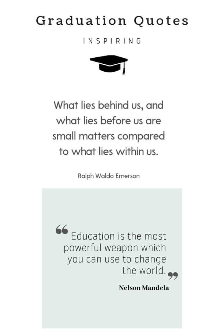 30 Best Inspirational Graduation Quotes College Quotes Inspirational Graduation Quotes Grad Quotes