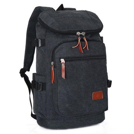 men's backpack Retro casual bag men Canvas bags Fashion high quality men bag Backpacks for man Four colors Unisex - TMACHE