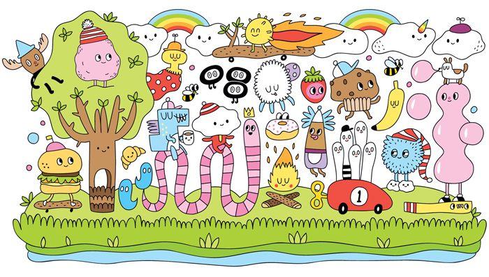 Ilustrovaný dětský koutek - ilustrace Yeka Haski