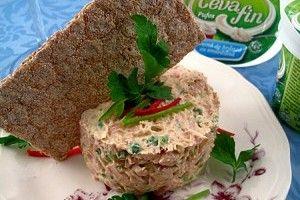 Pasta picanta de ton cu ceapa verde - Culinar.ro