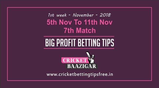 Cricket Baazigar Provide Match Prediction and Big Profit