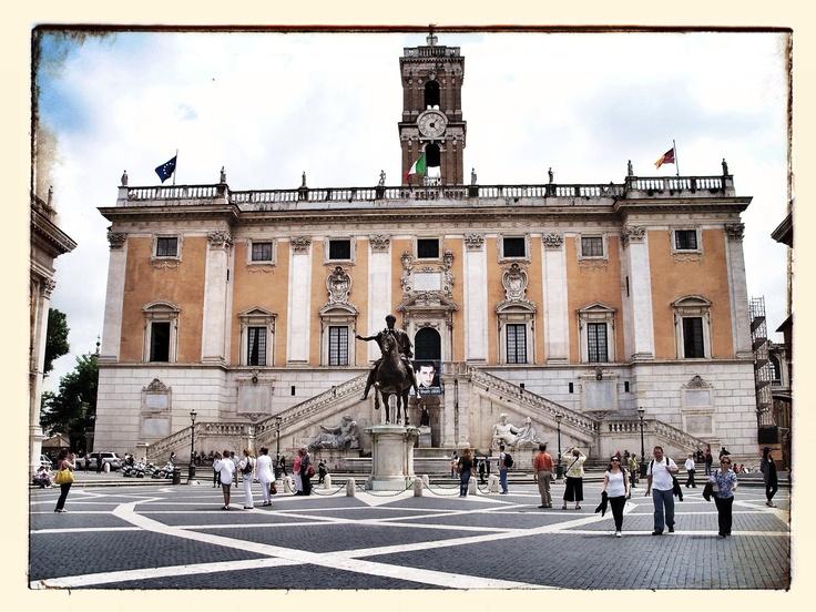 Piazza del Compidoglio - Capitoline Hill - Rome - Italy