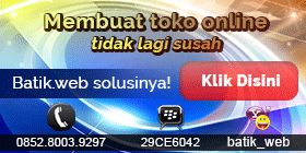 Buat Web Toko Online Batik Web