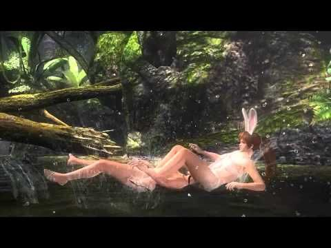 """Here's an ad for the upcoming video game DEAD OR ALIVE 5. It features women fighting each other deep in the woods while wearing playboy bunny outfits. For those who don't know; Team Ninja, the creators of the Dead or Alive series, are well known for objectifying female characters. Years ago  they made a big deal of their """"jiggle physics"""" in which they spent a great deal of programming effort making sure the boobs bounced a lot. That should be all you need to know about this game..."""