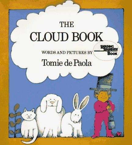 The Cloud Book Paperback – May 1, 1984 by Tomie dePaola (Author) Introduces the ten most common types of clouds, the myths that have been inspired by their shapes, and what they can tell about coming